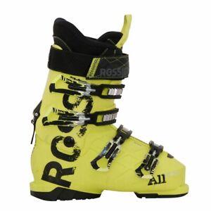 Chaussure-de-ski-occasion-junior-Rossignol-All-track-jaune
