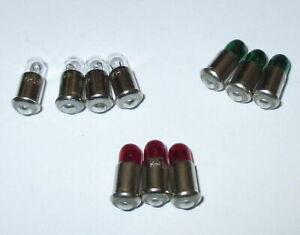 Ersatzlampen-MS4-rot-gruen-klar-19V-Farbe-nach-Wahl-10-Stueck-NEU