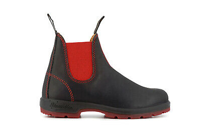 Blundstone Style 1316 Australian Chelsea Boots - Black / Red Moderater Preis