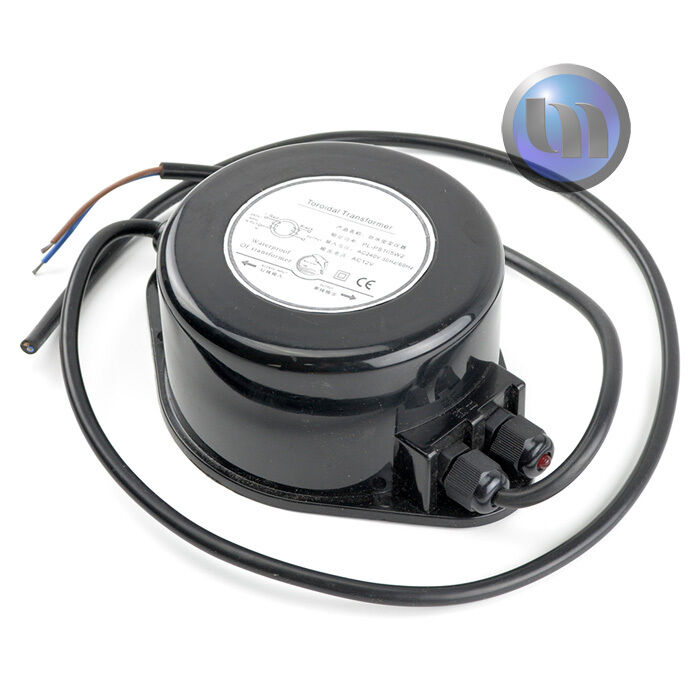 Waterproof Power Supply Transformer 12v AC 40W - Suitable for LED Swimming Pool