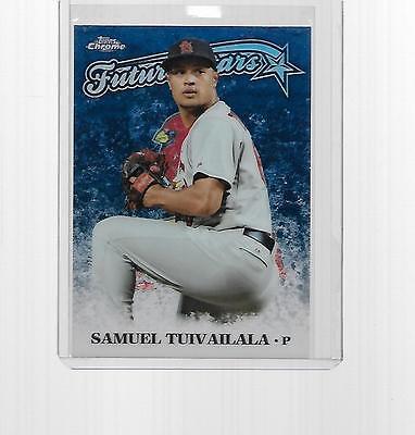 Louis Cardinals 2015 Topps Finest Baseball RC #8 Samuel Tuivailala St