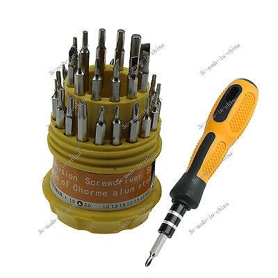 31 In 1 Screwdriver Set PDA Phone Repair Kit Tools for Hard Drive Watch PSP LS01