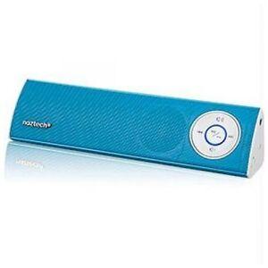 NUEVO-Naztech-N35-KLUB-Altavoz-Estereo-Bluetooth-azul-Venta-Embalaje-NK