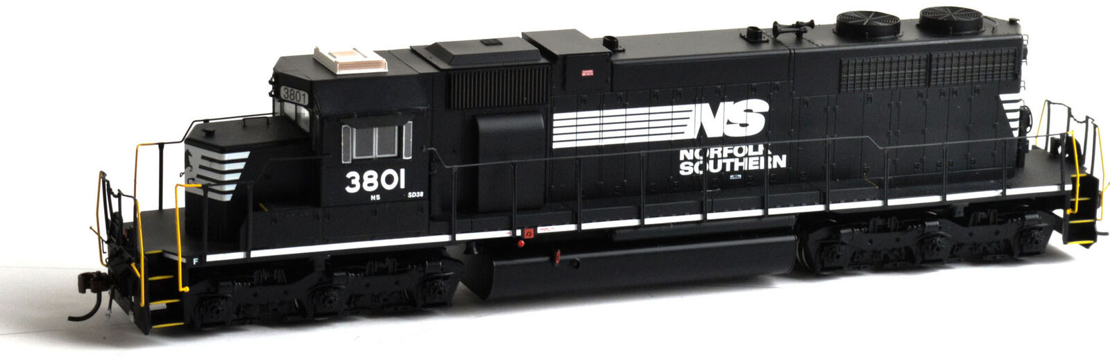 Athearn HO Scale EMD SD38 Diesel Locomotive Norfolk Southern NS