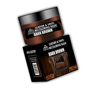 Leather Dark Brown Leather Recoloring Balm Leather Repair Kits for Couches