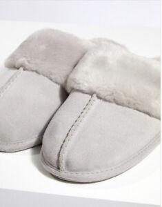 white company mule slippers