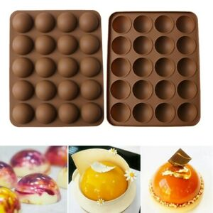 Silicone-Half-Sphere-Ball-Chocolate-Mold-Cake-Decor-Cupcake-Muffin-Baking-Mould