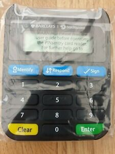 Latest BARCLAYS Pinsentry Security Banking Pin Sentry Bank Card Reader BRAND NEW