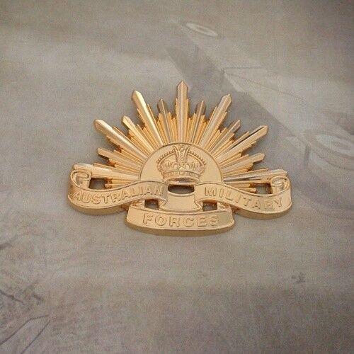 Rising Sun Cap Badge - 4th Version | 1949