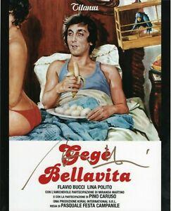 Gegè Bellavita Flavio Bucci Foto autografata Signed Photo Autografo Cinema