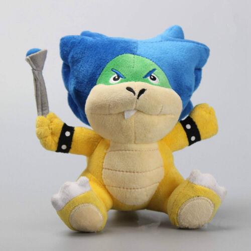 7pcs//set Super Mario Koopalings Larry Iggy Lemmy Koopa Wendy Bowser Plush Toy