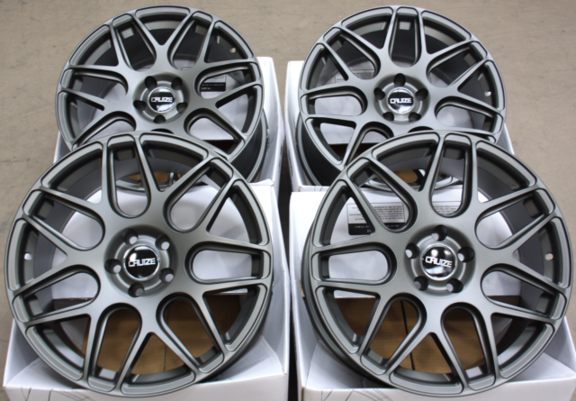 "ALLOY WHEELS 18"" CRUIZE CR1 GM FIT FOR FORD FOCUS MK2 MK3 INC ST"