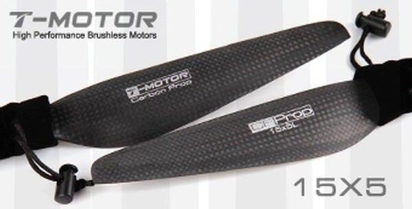 T-MOTORE 15x5 autobon Fiber elica 1x  1x CW CCW MN Tiger Multicopter  consegna gratuita e veloce disponibile