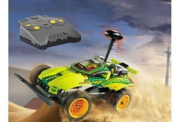 LEGO 4589 - Racers  Radio Control - RC Nitro Flash - 2002 - PLEASE READ