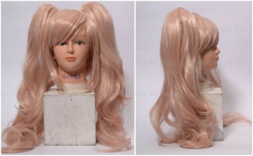 Danganronpa Trigger Happy Havoc ENOSHIMA JUNKO Golden Wig Halloween