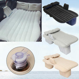 Gonflable-Voiture-SUV-MPV-Lit-Siege-Arriere-Air-Matelas-Pliant-reste-Couchage-Camping