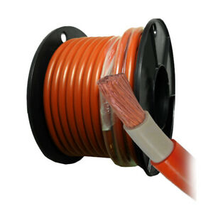 Welding Cable 50mm² 0 Gauge Solar Car Battery Weld Flex Australain Manufactured