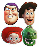 TOY STORY CHARACTER - FUN PARTY FACE MASKS - 4 TO CHOOSE FROM - LICENSED PRODUCT