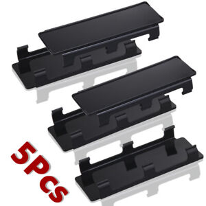 Details About 5x 8 Led Light Cover Kit Black Snap Off Road Straight Curved Led Work Light Bar