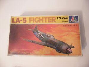 Italeri 1:72 N?135 LA-5 Fighter maquette en boite sous blister