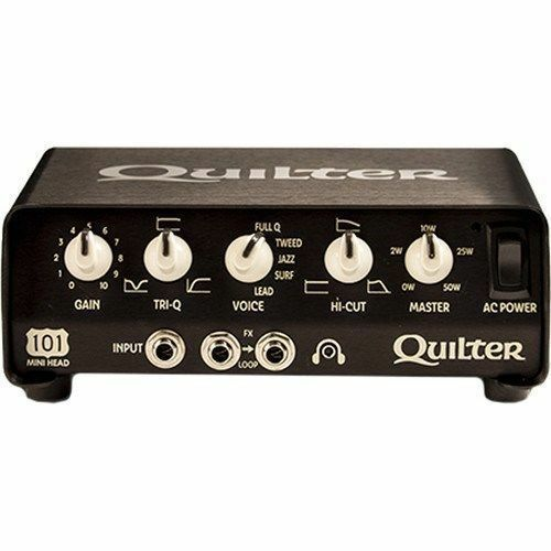 quilter labs 101 mini guitar amplifier head 100w amp ebay. Black Bedroom Furniture Sets. Home Design Ideas