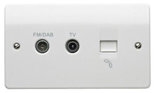 Tv Fm Dab diplexeur plus BT avec Insertion Outil K3560 B MK K3560 B
