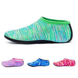 Unisex-Camo-Skin-Water-Shoes-Beach-Socks-Yoga-Exercise-Pool-Swim-On-Surf-Slip