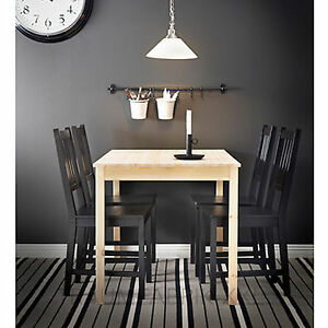 ikea tisch esszimmertisch esstisch k chentisch 75x120 massiv kiefer neu und ovp. Black Bedroom Furniture Sets. Home Design Ideas