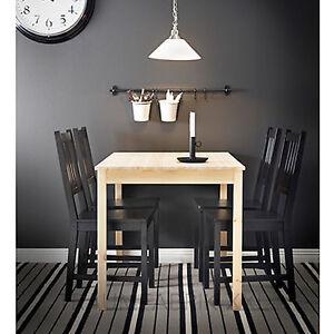 Detalles de IKEA Mesa Comedor de cocina 75x120 PINO MACIZO Nuevo y emb.orig.