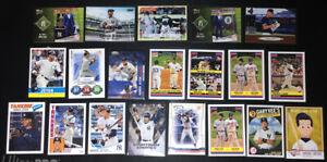 Derek-Jeter-20-Baseball-Card-Lot-NY-Yankees-Topps-With-Inserts-amp-More