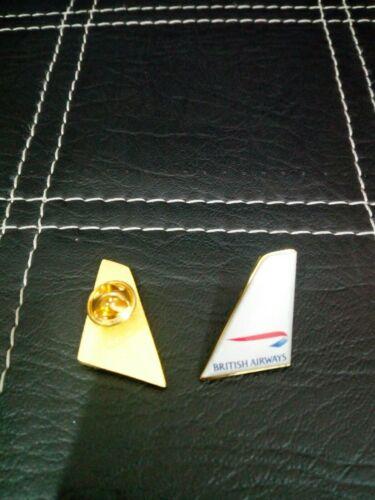 3 x British Airways tail  badge Lapel Pin