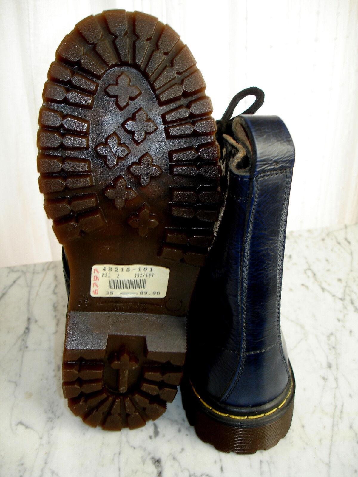 NEU Stiefeletten Damen Mädchen Schuhe Stiefel Stiefeletten NEU Stiefel Echtleder blau Gr.35 8d0f83