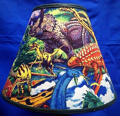 Colorful Dinosaurs Forest Lamp Shade Lampshade | eBay