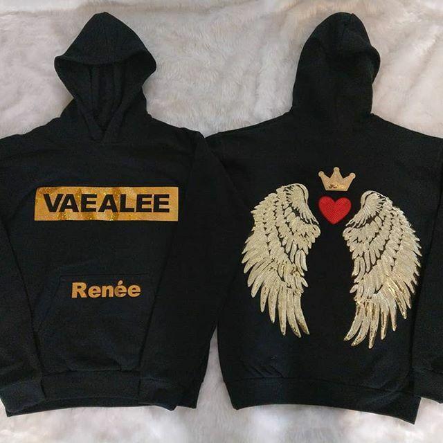 Vaealee angel wings Wings Jumper   T- shirt's