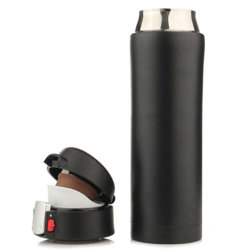 500ML Taza De Viaje Termo Taza De Té Café Agua vacío Botella de acero inoxidable G3L0