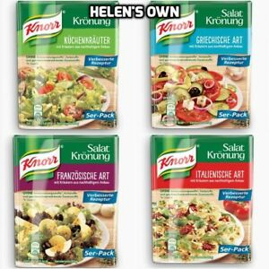 KNORR-Salad-Dressing-Herb-Mix-5-Sachets-NEW-MULTI-LISTING-Varied-Selection