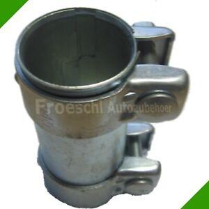 Auspuff-Rohrverbinder-Schelle-Doppelschelle-Auspuffrohr-Rohr-Verbinder-Abgasrohr