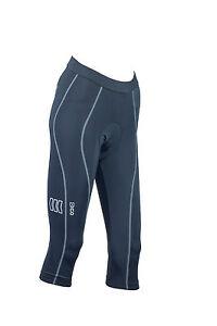 Eigo x-Large Donna SPIN primo lunghezza 3/4 Pantaloncini Ciclismo Corsa Lycra GRATIS P&P