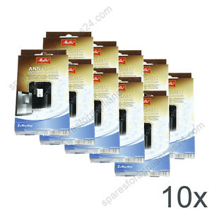 Details About 10x Melitta Anti Calc Descaler Coffee Espresso Machine 6739430 6739423 6545499