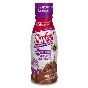16-Bottles-SlimFast-Weight-Loss-Meal-Replacement-Chocolate-Shake-11-Oz