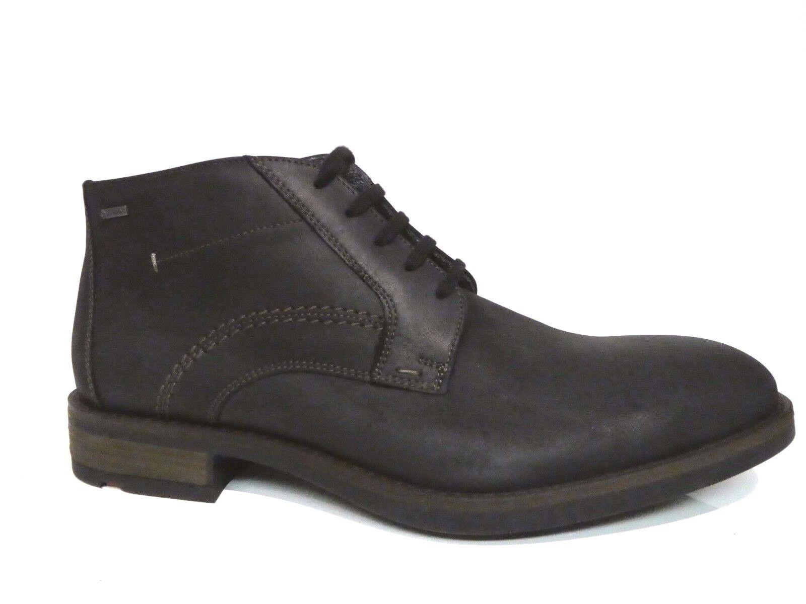 Lloyd Herren Schuhe Stiefel Stiefeletten Stiefel Veltin schwarz Leder Gore Tex NEU