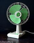 Ventilateur couleur vert mint marque Pifco vintage design an 60 H 38 cm