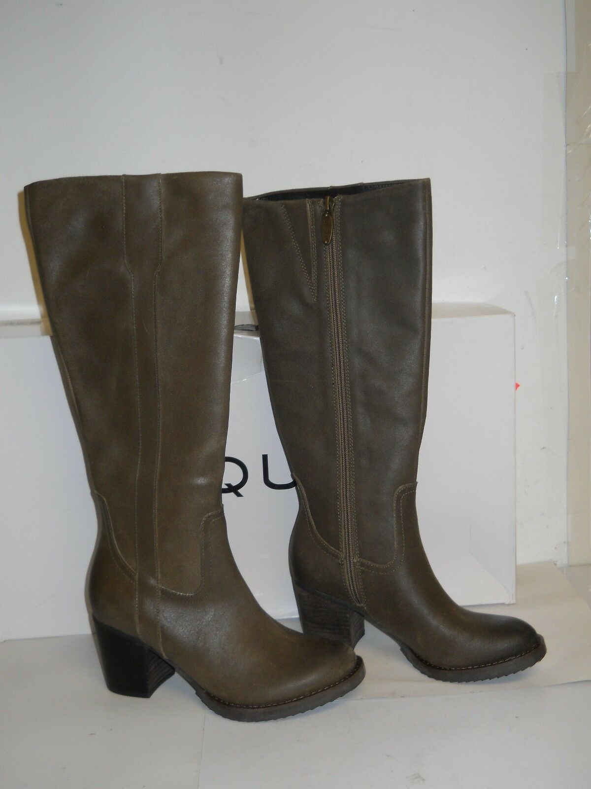 Aqua New Womens Zion Taupe Suede Boots Boots Boots 5.5 M shoes NWB c8d378