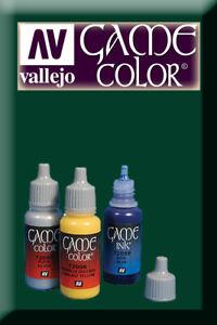 Fougueux Game Color Dark Green 72028 Acrylic Paint Vallejo à Distribuer Partout Dans Le Monde
