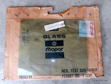 NOS MoPar 1978-85 Plymouth Dodge Van FRONT LEFT WINDOW TINTED GLASS 4081236