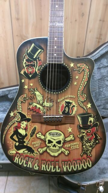 2aae91848 Fender T-Bucket 300-CE Limited Edition Vince Ray Voodoo Acoustic-Electric  Guitar