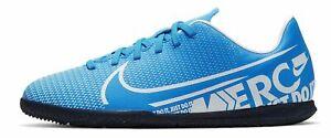 Nike-Hommes-Salles-Chaussures-Fussballschuhe-Nike-Vapor-13-Club-IC-bleu-clair