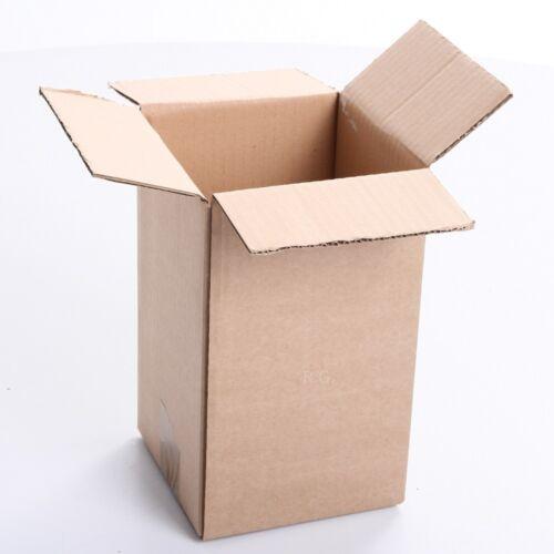 200x Karton Faltkarton 150x150x250 Versandkarton Verpackungen Schachtel