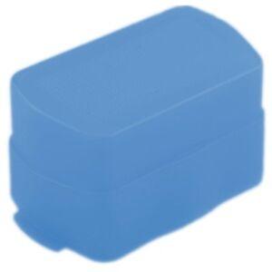 Diffusoren-Diffusor-Softbox-Blau-passend-fuer-Canon-430EX-amp-EXII-Blitzlicht