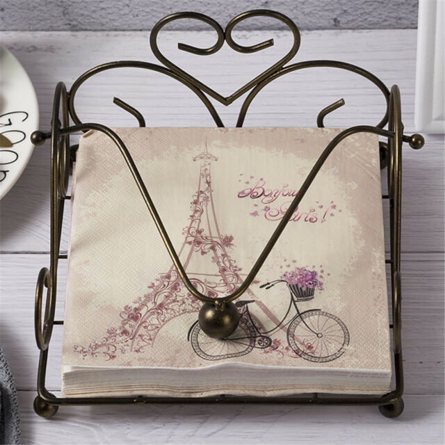 20pcs bicycle tower paper napkins serviette tissue party supply home decor nh